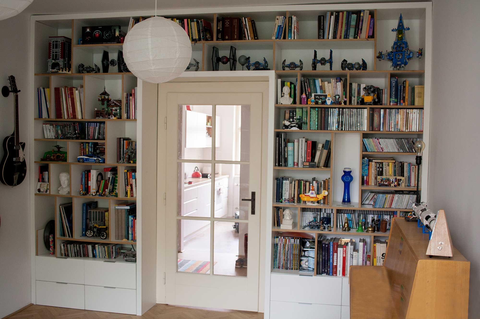 Atypická knižnica na mieru