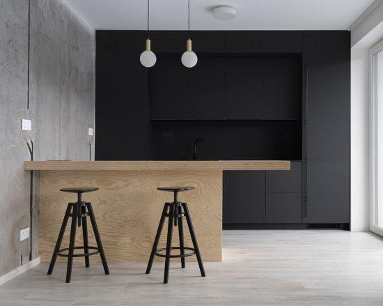 Kuchyňa na mieru s preglejkou
